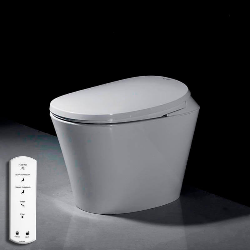 R500 toilet with remote control