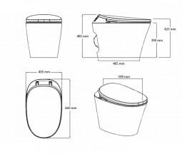 Toilet measures