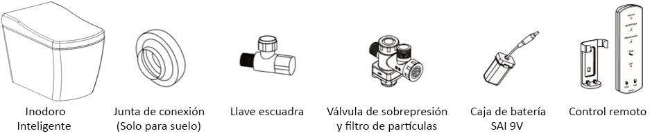 accesorios inodoro
