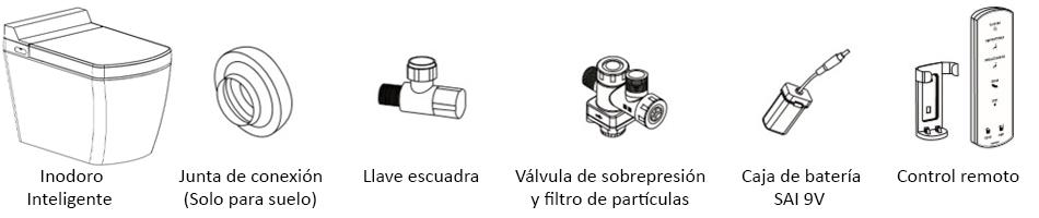 sanitario accesorios